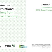 Sustainable Constructions: Solutions from Circular Economy