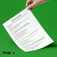 RE4 project Webinars!