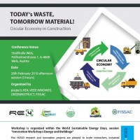 """TODAY´s WASTE, TOMORROW MATERIAL"" workshop at WSED 2019"