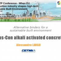 Alessandro Largo presentation at 8th ECTP conference