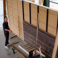 RE4 facade timber panels
